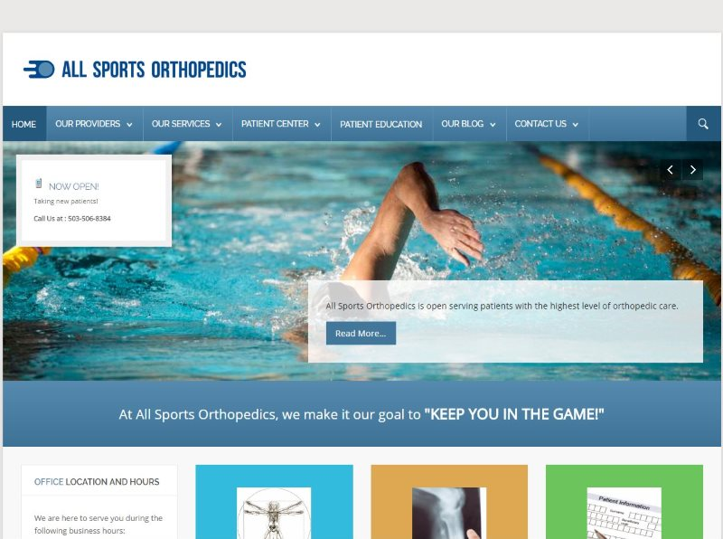 All Sports Orthopedics - Dr. McWeeney of Tualatin, Oregon